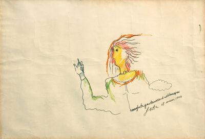 Tano Festa, 'A Margherita', 1977