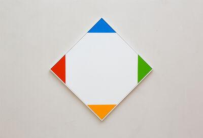 Max Bill, 'vier akzente aus dem quadrat', 1969-1970