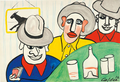 Alexander Calder, 'The Pub', 1972