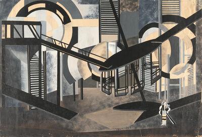 Alexandra Exter, 'Projet de décor de la Dame Duente de Pedro Calderon de la Barca (production de Alexandre Taïrov pour le Théatre de Chambre de Moscou)', 1924