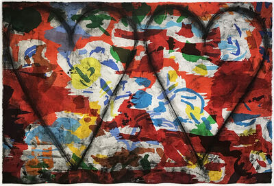 Jim Dine, 'Left handed Woodcut, Etching', 2015
