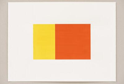 Steven Aalders, 'Phi (Yellow,  Red)', 2016