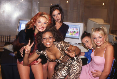 David Corio, 'The Spice Girls, AOL Headquarters, New York, USA', 1997