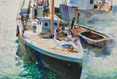 John Whorf, 'Sailboats'