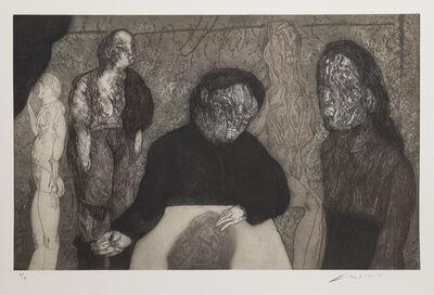 Jose Luis Cuevas, 'Clase de Anatomia ', 1989