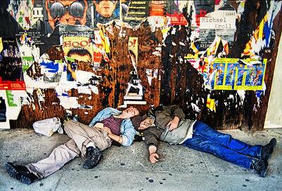 Mitchell Funk, 'Drunks Lower East Side Manhattan', ca. 1998