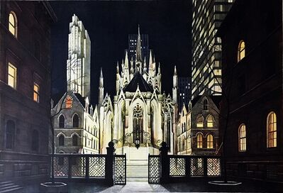Richard Haas, 'Villard Courtyard, St. Patrick's Cathedral (New York City)', 1983