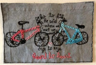 Iviva Olenick, 'Bike to Bike', 2019