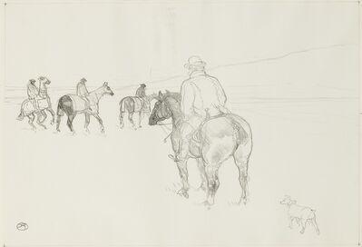 Henri de Toulouse-Lautrec, 'L'Entraineur (D. 172; Adr. 287; W. 313)', 1898-99