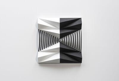 Fabrice Ainaut, 'Variation autour d'un demi cône-Composition 03', 2019