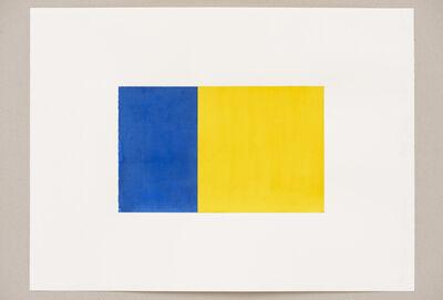 Steven Aalders, 'Phi (Blue, Yellow)', 2016
