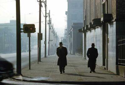 Fred Herzog, 'Two Men in Fog', 1958
