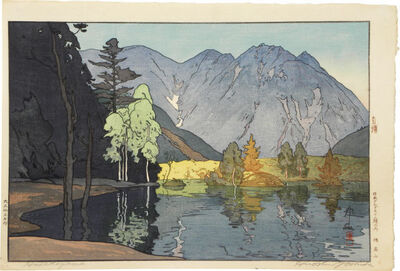 Yoshida Hiroshi, 'Twelve Scenes in the Japan Alps: Mount Hodaka', ca. 1926