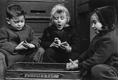 Ruth Orkin, 'The Card Players, a suite of 6 photographs.', 1980s