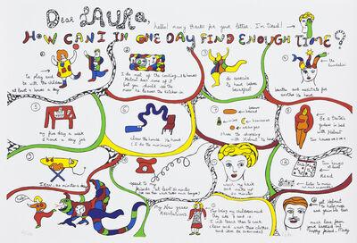 Niki de Saint Phalle, 'Dear Laura', 1982