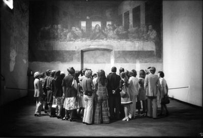Erich Hartmann, 'Art in Italy', 1974