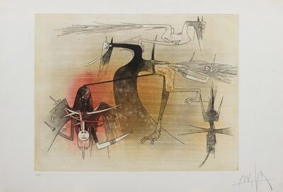 Wifredo Lam, 'Figure'