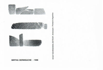 Mirtha Dermisache, 'Postal', 1998
