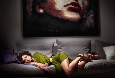 David Drebin, 'Under The Lips', 2009