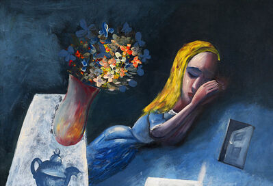 Charles Blackman, 'Dreaming Alice', 1956