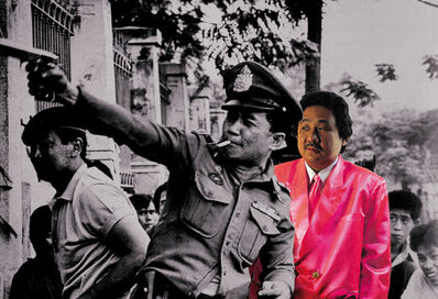 Manit Sriwanichpoom, 'Horror in Pink #2', 2001