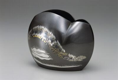 Nakagawa Mamoru, 'Flower vase Yamakage (Mountain Reflection)', 2009