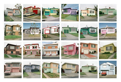 Jeff Brouws, 'Freshly Painted Houses Portfolio', 1991