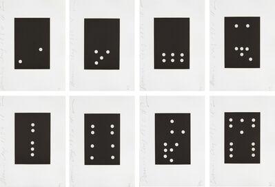 Donald Sultan, 'Dominoes', 1990