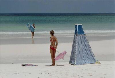 Slim Aarons, 'Beach Couple, Harbour Island in the Bahamas', 1967
