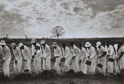 Danny Lyon, 'The Line, Ferguson Prison, Texas', 1968
