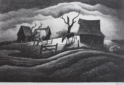 Thomas Hart Benton, 'Rainy Day', 1938