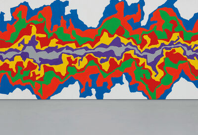 Sol LeWitt, 'Wall Drawing #1002 Splat'