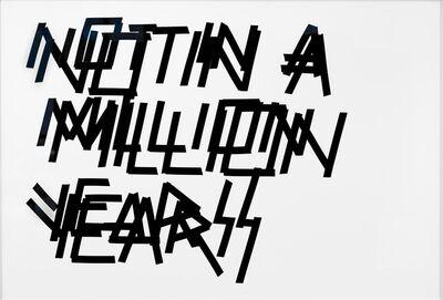 Matias Faldbakken, 'Untitled (Not in a Million Years)', 2007