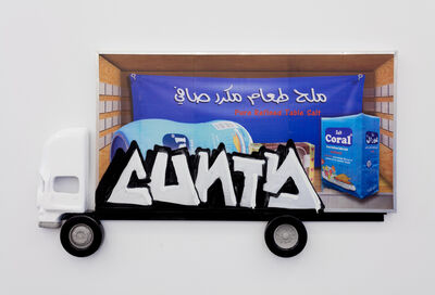 Pentti Monkkonen, 'Box Truck Painting (Cunty)', 2015