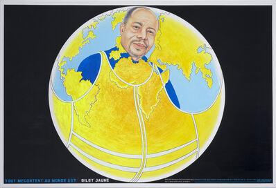 Chéri Samba, 'Tout mécontent au monde est gilet jaune', 2019