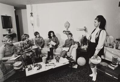 Bill Owens, 'I enjoy giving a tupperware party…', ca. 1969