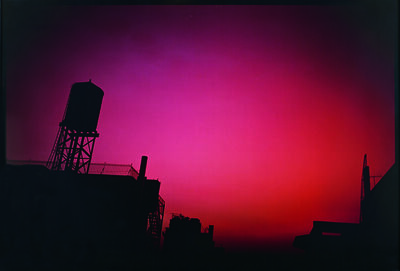Nan Goldin, 'Red Sky From my Window, NYC', 2000