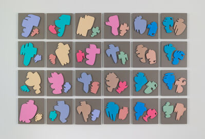 Allan McCollum, 'The Shapes Project: Collection of Twenty-four Perfect Couples', 2005/2018