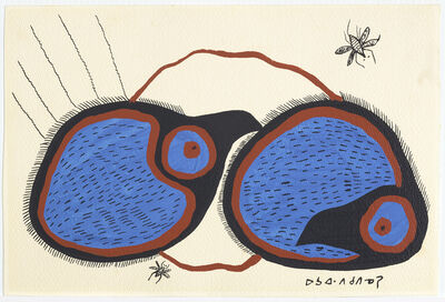 Norval Morrisseau, 'Untitled (Two Birds)', 1967-1973