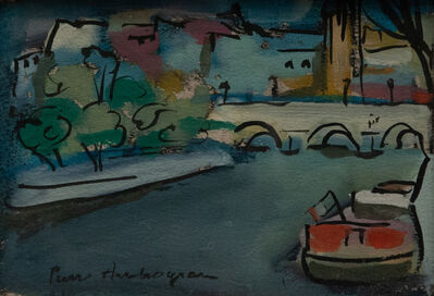 Pierre Ambrogiani, 'Le pont aux trois arches', 1907-1985