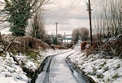 Eugene Conway, 'Road In Winter', 2020