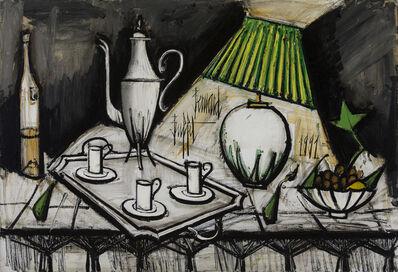 Bernard Buffet, 'Nature morte au service à café', 1991