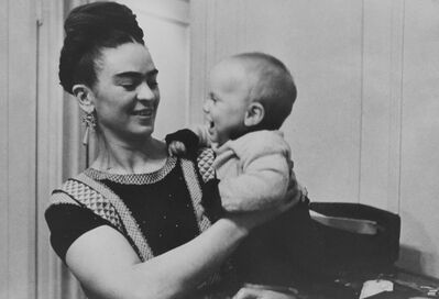 Lucienne Bloch, 'Frida with her Godson', 1938
