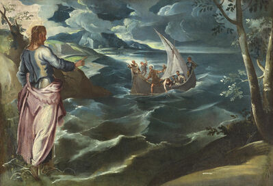 Jacopo Tintoretto, 'Christ at the Sea of Galilee', ca. 1575/1580