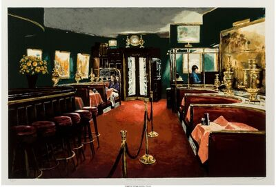 Harry McCormick, 'Russian Tea Room', circa 1979