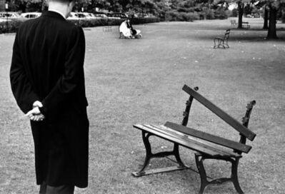 André Kertész, 'Broken Bench', 1962