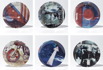 Robert Rauschenberg, 'Guggenheim Retrospective Limited Edition Suite of 6 Plates ', 1997