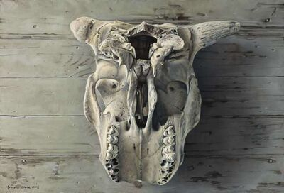 Gregory Block, 'Cow Skull'