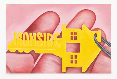 Rebecca Ackroyd, 'Ironside home', 2020