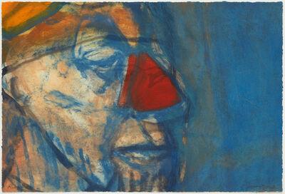 Hughie O'Donoghue, 'Rioba Red Nose IV', 2011